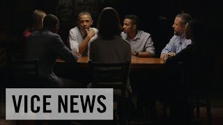 オバマ大統領を囲む会 人材育成のための学資ローンのあり方について 堅苦しさ一切ナシ!