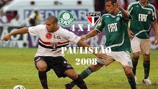 Palmeiras Campeão do Campeonato Paulista 2008 Palmeiras 4 x 1 São PauloDia: 16/03/2008 Escalações Palmeiras Marcos...