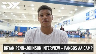Bryan Penn-Johnson Interview - Pangos All - American Camp