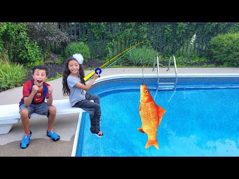 Heidi and Zidane gone fishing story