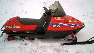 10. SOLD 2000 Polaris 600 VES XCSP Gen II Snowmobile