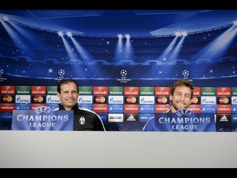 conferenza stampa pre juventus - atletico madrid