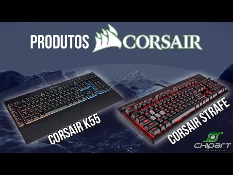 TECLADOS E MOUSE CORSAIR!   ‹ ChipArt ›