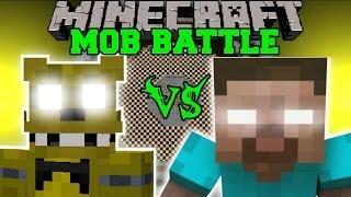 Video GOLDEN FREDDY VS HEROBRINE - Minecraft Mob Battles - Minecraft Mods MP3, 3GP, MP4, WEBM, AVI, FLV Mei 2017