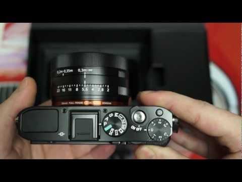 Sony Cyber-shot DSC-RX1 Unboxing