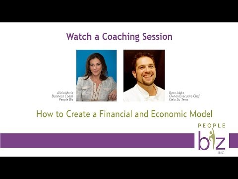Business Coaching Session with Business Coach Alicia Marie and Chef Ryan Abitz