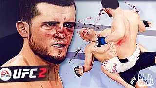 SUBMIT YOUR VIDEOS HERE - https://goo.gl/sxcg1yKO THE LIKE BUTTON!WinnersNelublusupAdamJay2xKingCharles337H22prelude32ThatKiidBandzContact me on twitter to claim prize!★I have twitter Follow Me On Twitter https://twitter.com/#!/MMAGAME1★★Death Touch  THAT LIKE BUTTON!FOLLOW ME ON GOOGLE PLUS - https://plus.google.com/1064842490489...Please Like and share MMA FAM! ►I Stream this game LIVE TWITCH TV Here http://www.twitch.tv/mmagameEA Sports UFC 2 is a mixed martial arts fighting video game developed by EA Canada, published by Electronic Arts for the PlayStation 4 and Xbox One. It is based on the Ultimate Fighting Championship (UFC) brand.