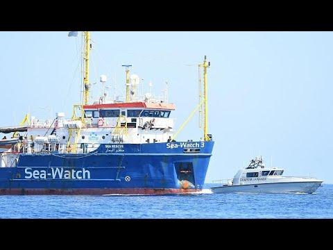 Στα ιταλικά χωρικά ύδατα το Sea Watch