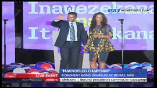 Alfred Mutua Gives Maiden Speech And Launches His Party Maendeleo Chap Chap
