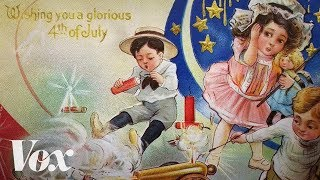 """And on independence day, teenage boys hurt themselves with fireworks. Subscribe to our channel! http://goo.gl/0bsAjOThe thumbnail is a postcard distributed in 1911 from a toy and fireworks dealer in Pittsburgh that we found at the Smithsonian National Museum of American History.  You can find out more about it, and the """"patriotic tetanus"""" that earlier generations of July 4th celebrants experencied, here:  http://americanhistory.si.edu/blog/patriots-got-tetanusBrian Resnick wrote more about the annual ritual of teenage boys endangering life and limb at vox.com: https://www.vox.com/science-and-health/2017/7/3/15914160/fireworks-injuries-hospitalizationsVox.com is a news website that helps you cut through the noise and understand what's really driving the events in the headlines. Check out http://www.vox.com to get up to speed on everything from Kurdistan to the Kim Kardashian app. Check out our full video catalog: http://goo.gl/IZONyEFollow Vox on Twitter: http://goo.gl/XFrZ5HOr on Facebook: http://goo.gl/U2g06o"""