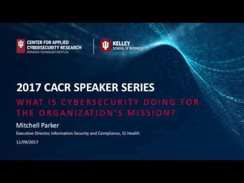 2017-18 CACR Speaker Mitch Parker