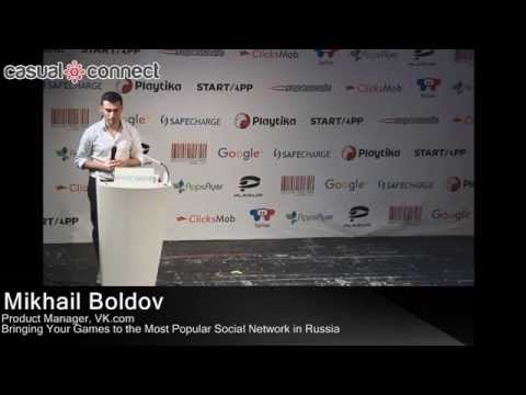 The Most Popular Social Network in Russia | Mikhail Boldov