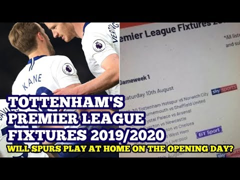 PREMIER LEAGUE FIXTURES ARE OUT TOMORROW: Opening Day Fixtures Leaked 2019/20: Norwich City At Home?