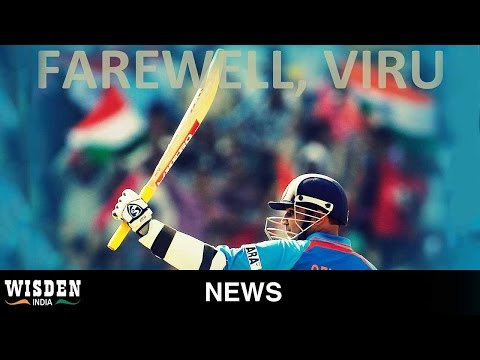 Sehwag announces retirement