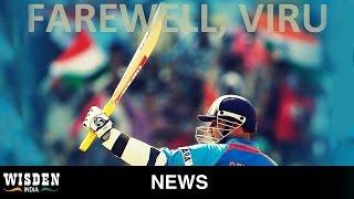 Sehwag announces retirement