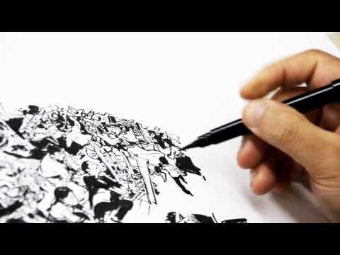 Impresionante demostración de Dibujo