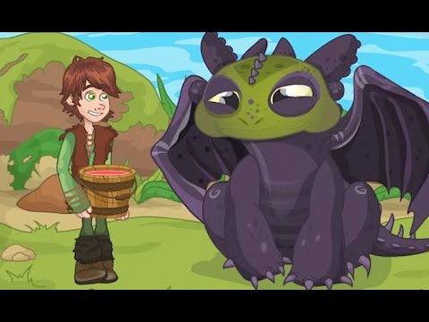 How To Train Your Dragon Full Episode - Lunch Surprise - Cartoon Movie Game for Kids
