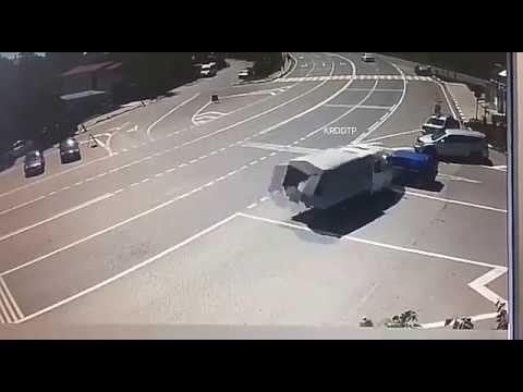 Авария в Туапсе