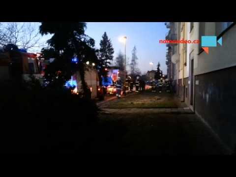 Dnes v 6 ráno sousedům vyhořel byt