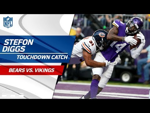 Video: Stefon Diggs Hauls in the TD Pass from Case Keenum to Extend Lead | Bears vs. Vikings | NFL Wk 17