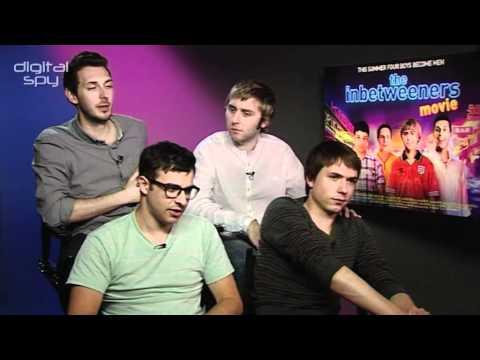 'Inbetweeners Movie': Simon Bird, Joe Thomas, James Buckley, Blake Harrison
