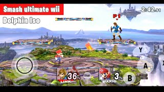 Super SMASH bros ULTIMATE for Wii Android /Dolphin-emulator 2019