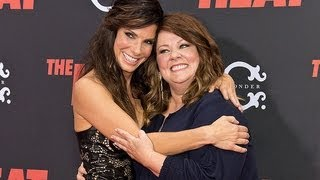 Sandra Bullock And Proper Melissa McCarthy Bring The Heat To NYC | POPSUGAR News