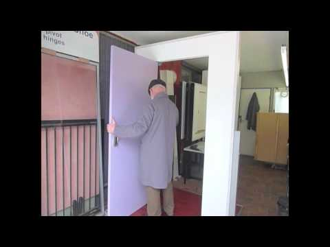 How to install a pivot door in under 5 minutes - The TR35 Pivot Kit