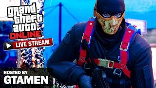 Playing Vagner Races and Dawn Raid Adversary Mode for GTA Online on PlayStation 4Follow our stream host on YouTube http://www.youtube.com/c/gtamen and Twitter http://www.twitter.com/Gtamen===================================JOBS PLAYED:24 Heures du Tongvahttps://socialclub.rockstargames.com/games/gtav/ps4/jobs/job/3NxaSSW1a0atq_U5m9RyOAGroßer Preis von Haanhttps://socialclub.rockstargames.com/games/gtav/ps4/jobs/job/Glf01IL5h0ejQpwz3zoFHQRockford Motor Racewayhttps://socialclub.rockstargames.com/games/gtav/ps4/jobs/job/1Z2juDSEMUaL_RkOGeaXeg===================================GTA Series Videos is a dedicated fan-channel keeping you up to date with all the latest news, video walkthroughs and official trailers of the most successful video games published by Rockstar Games, including Grand Theft Auto series, Red Dead Redemption, Max Payne, L.A. Noire, Bully and many others.This channel is in no way tied to Rockstar Games or Take-Two Interactive.Follow GTA Series Videos on: YouTube - http://www.youtube.com/GTASeriesVideos Google+ - http://www.google.com/+GTASeriesVideos Facebook - http://www.facebook.com/GTASeriesNews Twitter - http://www.twitter.com/GTASeries Instagram - https://instagram.com/GTASeriesNews Vine - https://vine.co/GTASeriesFor more info and videos visit:http://www.GTASeriesVideos.com  http://www.GTA-Series.com  http://www.GTA-Downloads.com  http://www.Games-Series.com
