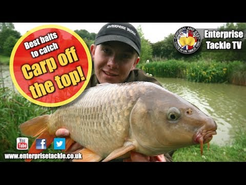 VIDEO: catching carp off the top with Enterprise Tackle