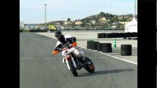 8. Testride KTM SMR 450 2013, Marc-Reiner Schmidt, #4,  SM-Training / Test in Spain