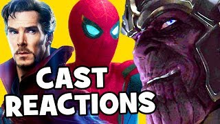 Marvel's Avengers Infinity War cast reactions to the footage teaser trailer shown at D23 Expo. Interviews with Benedict Cumberbatch, Tom Holland, Josh Brolin, Sebastian Stan, Anthony Mackie, Mark Ruffalo, Chadwick Boseman, Elizabeth Olsen, Paul Bettany, Karen Gillan, Kevin Feige, Joe Russo & Kevin Feige.Subscribe for more! ► http://bit.ly/FlicksSubscribeRELATED VIDEOS--------------Avengers Infinity War Assemble For D23 Expo Presentation ► http://youtu.be/RLSyvLkrVnMSpider-Man Homecoming Deleted Scenes ► http://youtu.be/bwLEyigYtd4Spider-Man Homecoming Easter Eggs ► http://youtu.be/M8UaqQqTy8AThor Ragnarok Trailer Easter Eggs ► http://youtu.be/wYPP_RtEnZIBlack Panther Trailer Easter Eggs ► http://youtu.be/xUEs9M18BjsPLAYLISTS YOU MIGHT LIKE------------------------Marvel ► http://bit.ly/MarvelVideosDC ► http://bit.ly/DCVideosFox Marvel Movies ► http://bit.ly/FoxMarvelVideosStar Wars ► http://bit.ly/StarWarsVidsAmazing Movie & TV Facts ► http://bit.ly/ThingsYouDidntKnowVideosMovie Deleted Scenes & Rejected Concepts ► http://bit.ly/MovieDeletedScenesEaster Eggs ► http://bit.ly/EasterEggVideosDisney Animation ► http://bit.ly/DisneyAnimationVideosPixar ► http://bit.ly/PixarVideosSOCIAL MEDIA & WEBSITE----------------------Twitter ► http://twitter.com/FlicksCityFacebook ► http://facebook.com/FlicksAndTheCityGoogle+ ► http://google.com/+FlicksAndTheCityWebsite ► http://FlicksAndTheCity.comAvengers: Infinity War is an upcoming American superhero film based on the Marvel Comics superhero team the Avengers, produced by Marvel Studios and distributed by Walt Disney Studios Motion Pictures. It is intended to be the sequel to 2012's Marvel's The Avengers and 2015's Avengers: Age of Ultron and the nineteenth film installment in the Marvel Cinematic Universe (MCU). The film is directed by Anthony and Joe Russo, with a screenplay by Christopher Markus & Stephen McFeely, and features an ensemble cast that includes Robert Downey Jr., Josh Brolin, Mark Ruffalo, Tom Hiddleston, Chris Evans, Chris Hemsworth, Jeremy Renner, Chris Pratt, Elizabeth Olsen, Sebastian Stan, Benedict Cumberbatch, Paul Bettany, Samuel L. Jackson, Cobie Smulders, Benedict Wong, Zoe Saldana, Karen Gillan, Vin Diesel, Dave Bautista, Pom Klementieff, Scarlett Johansson, Benicio del Toro, Tom Holland, Anthony Mackie, Chadwick Boseman, Danai Gurira and Paul Rudd. In Avengers: Infinity War, the Avengers join forces with the Guardians of the Galaxy to confront Thanos, who is trying to amass the Infinity Stones.The film was announced in October 2014 as Avengers: Infinity War – Part 1. The Russo brothers came on board to direct in April 2015 and by May, Markus and McFeely signed on to write the script for the film. In July 2016, Marvel shortened the titled to Avengers: Infinity War. Filming began in January 2017, at Pinewood Atlanta Studios in Fayette County, Georgia, and lasted until July 2017, shooting back-to-back with a direct sequel. Additional filming took place in Scotland, England, the Downtown Atlanta area and New York City.Avengers: Infinity War is scheduled to be released on May 4, 2018, in IMAX. An untitled sequel is scheduled to be released on May 3, 2019.