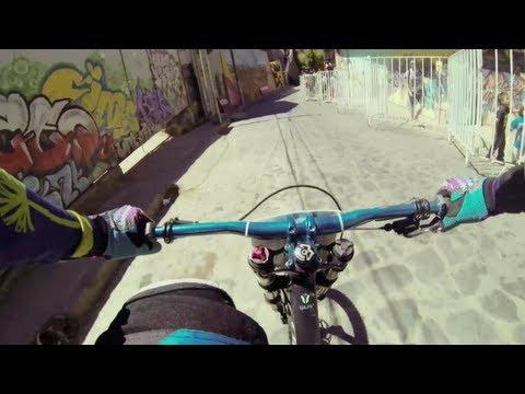 Urban MTB POV in Chile – Red Bull Valparaíso Cerro Abajo 2013