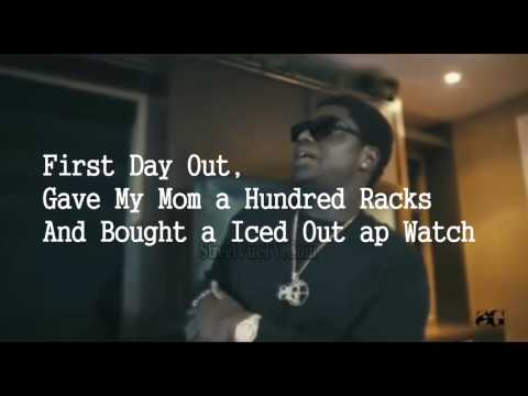 (Lyrics) Kodak Black - First Day Out Freestyle