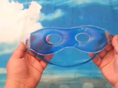Augengelmaske, Gelmaske, Entspannungsmaske, Augenmaske