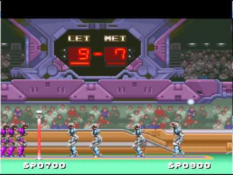 Hyper V-Ball Super Nintendo