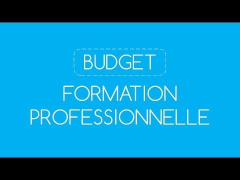 Vidéo sur BUDGET Formation Professionnelle