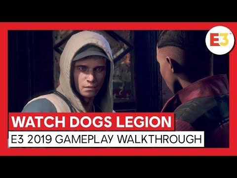 Longue séquence de gameplay de l'E3 2019 de Watch Dogs Legion