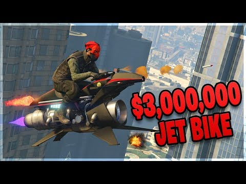 EPIC Oppressor MK II Destruction! (GTA 5 Online)