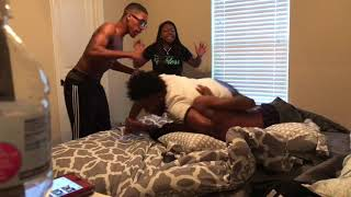 CAUGHT IN BED WITH KEN PRANK ON DRE **ALMOST GOT MY A$$ WHOOPED**