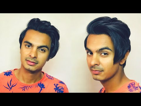 Mens hairstyles - My Everyday Hairstyling Routine For Longer Hair  Mens Long Hairstyle 2018