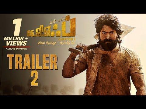KGF Chapter 1 Official Trailer 2 Tamil   Yash   Srinidhi Shetty   Prashanth Neel   Vijay Kiragandur