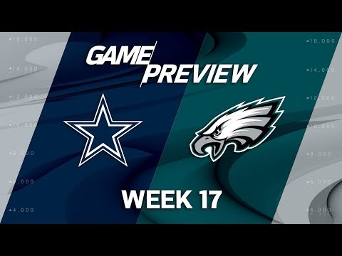 Video: Dallas Cowboys vs. Philadelphia Eagles | NFL Week 17 Game Preview | NFL Playbook
