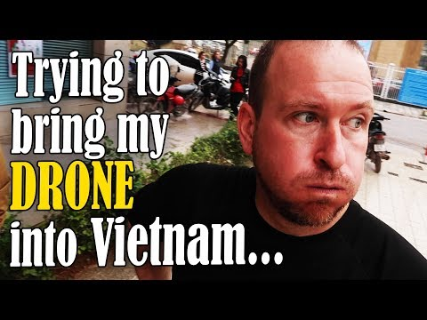 Crossing from China to Vietnam with my Drone