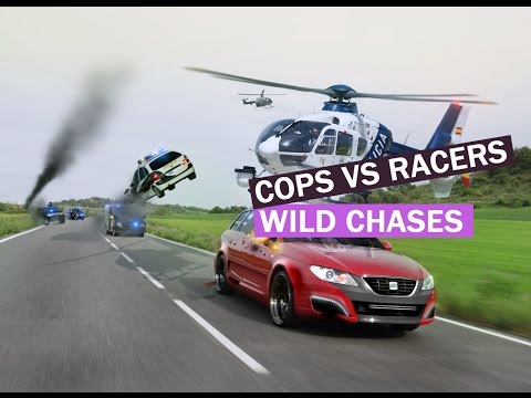 Download CHASES GONE WILD - Best Police CHASES Compilation - Cops VS Street Racers chases 2015