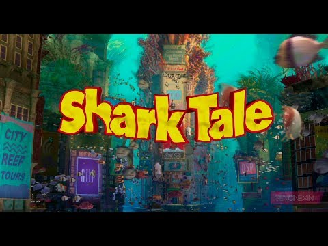 Combo Logos: Columbia Pictures/ Dreamworks Animation SKG - Shark Tale (2004).