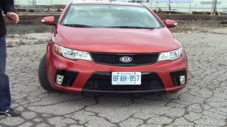 2010 Kia Forte Koup Review - A Stroke Of Korean Genius To Fill A Sport Compact Niche