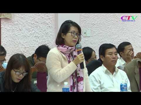 UBND huyện Cam Lộ thông qua các báo cáo chuẩn bị kỳ họp thứ 7 HĐND huyện