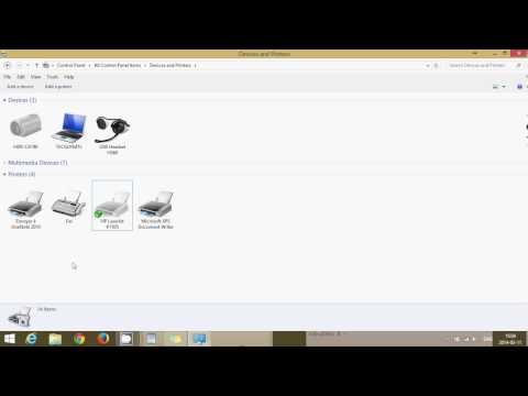 Fixit How to set default printer in Windows