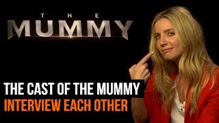 We got Annabelle Wallis, Sofia Boutella, Jake Johnson, Courtney B. Vance and Director Alex Kurtzman to ask each other questions about The 2017 version of The Mummy. For more from GamesRadar Subscribe: http://goo.gl/cnjsn1http://www.gamesradar.comhttp://www.facebook.com/gamesradarhttp://www.twitter.com/gamesradarhttp://www.twitch.tv/gamesradar